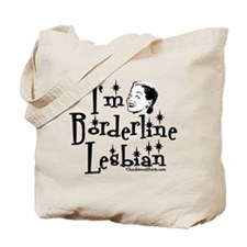 Cute Glbt bi funny Tote Bag