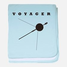Voyager Space Probe baby blanket