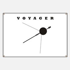 Voyager Space Probe Banner