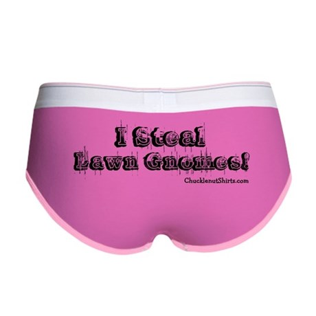I steal lawn gnomes Women's Boy Brief