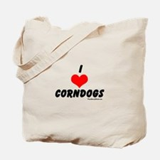 I love corndogs Tote Bag