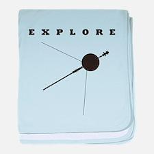 Voyager / Explore baby blanket