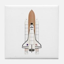 Shuttle Stack Tile Coaster
