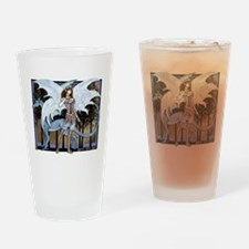 Lana and Lilac Drinking Glass