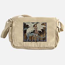 Lana and Lilac Messenger Bag