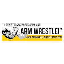 Armwrestling Australia Bumper Bumper Stickers
