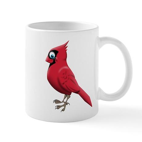 Red Smiley Face Mug