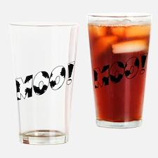 Moo! Drinking Glass
