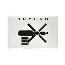 Skylab Silhouette Rectangle Magnet