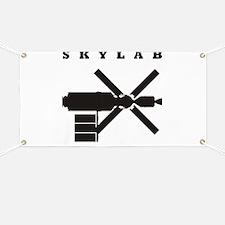 Skylab Silhouette Banner