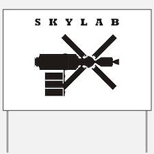 Skylab Silhouette Yard Sign