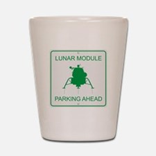 Lunar Module Parking Shot Glass
