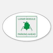Lunar Module Parking Decal
