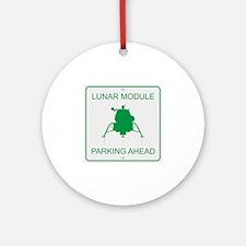 Lunar Module Parking Ornament (Round)