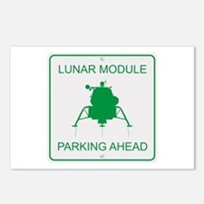 Lunar Module Parking Postcards (Package of 8)