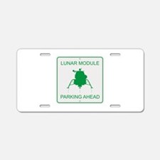 Lunar Module Parking Aluminum License Plate