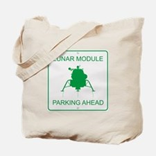 Lunar Module Parking Tote Bag