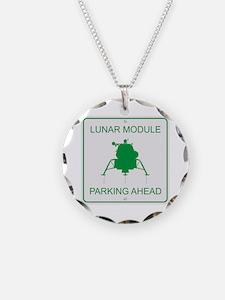 Lunar Module Parking Necklace