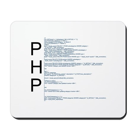 PHP Mouse Pad
