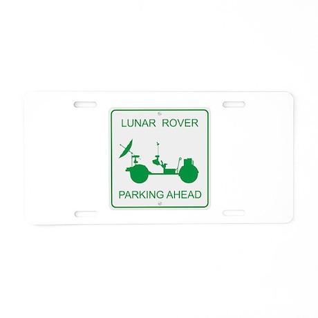 LRV Parking Aluminum License Plate