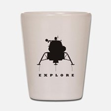 Lunar Module / Explore Shot Glass