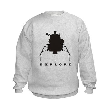 Lunar Module / Explore Kids Sweatshirt