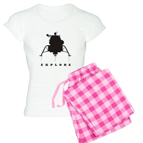 Lunar Module / Explore Women's Light Pajamas