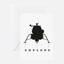 Lunar Module / Explore Greeting Cards (Pk of 10)