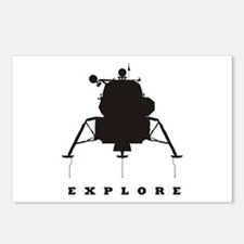Lunar Module / Explore Postcards (Package of 8)