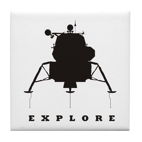 Lunar Module / Explore Tile Coaster