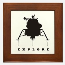 Lunar Module / Explore Framed Tile