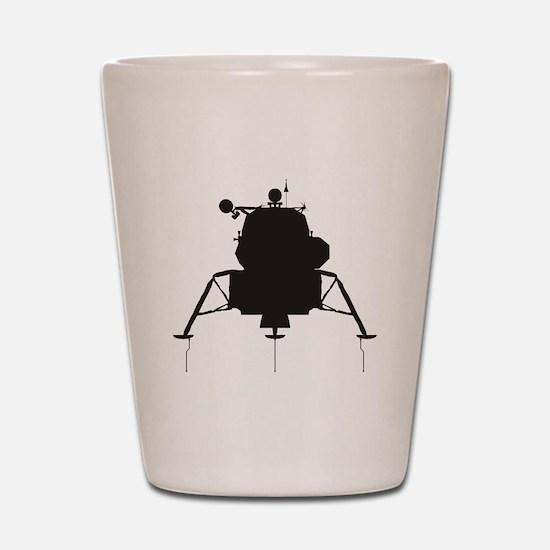 Lunar Module Shot Glass