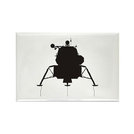 Lunar Module Rectangle Magnet (100 pack)