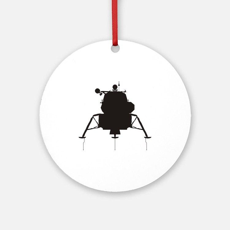 Lunar Module Ornament (Round)