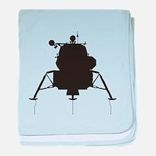Lunar Module baby blanket