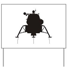 Lunar Module Yard Sign