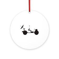 Lunar Rover Ornament (Round)