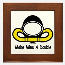 Make Mine A Double Framed Tile