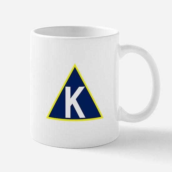 Triangle K jpg Mugs