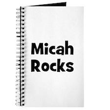 Micah Rocks Journal