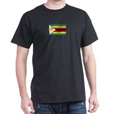 Zimbabwe Black T-Shirt