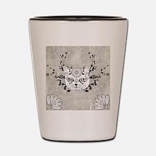 Wonderful sugar cat skull Shot Glass
