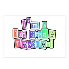 1st Grade Teacher Postcards (Package of 8)