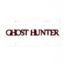 Unique Ghost hunters Aluminum License Plate