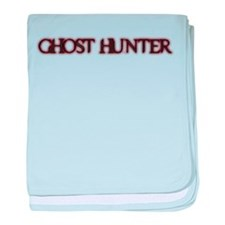 Funny Paranormal investigator baby blanket