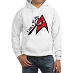 A Study in Redshirt Hooded Sweatshirt