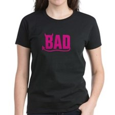 Bad - Pink horns and tail Tee