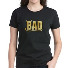 Bad - Gold horns and tail Tee