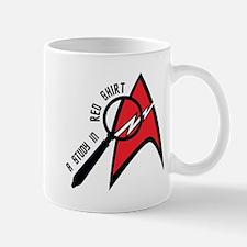 A Study in Redshirt Mug