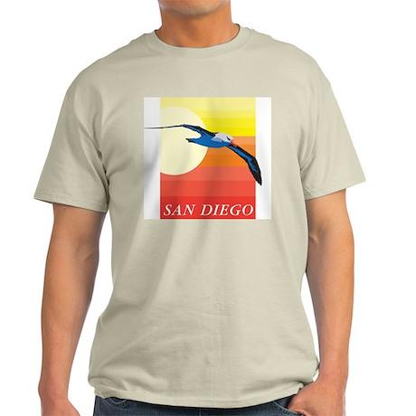 San Diego Ash Grey T-Shirt